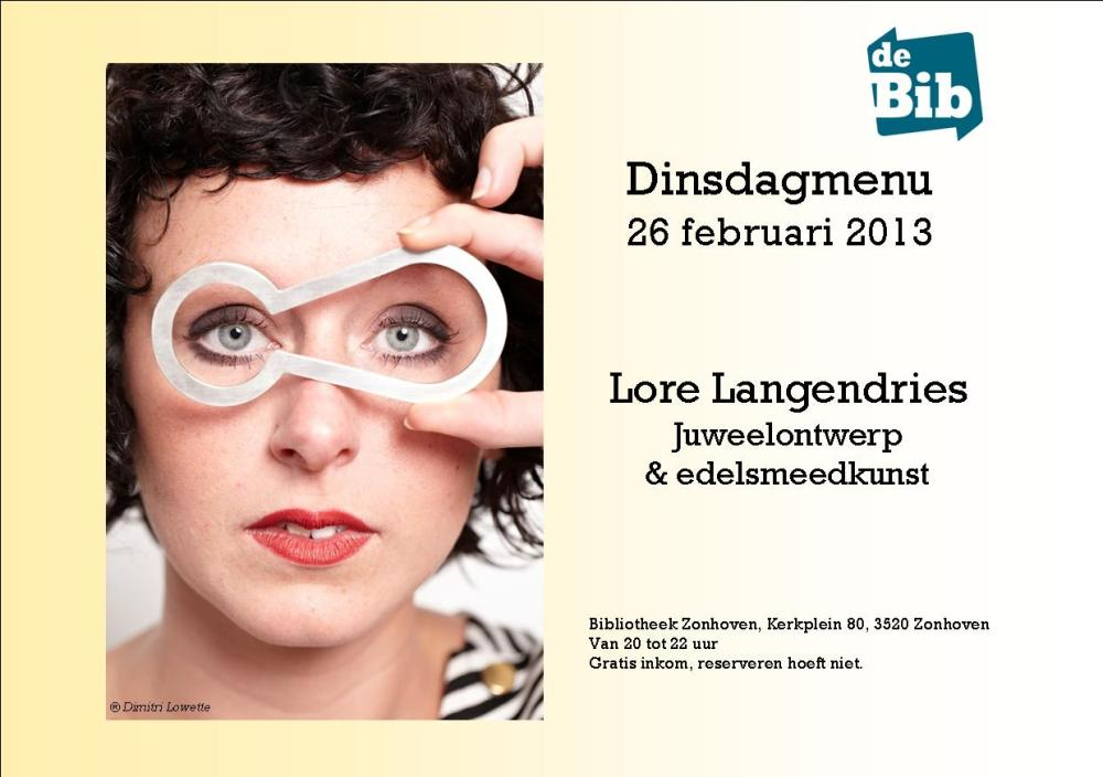 Lore Langendries (c) Dimitri Lowette