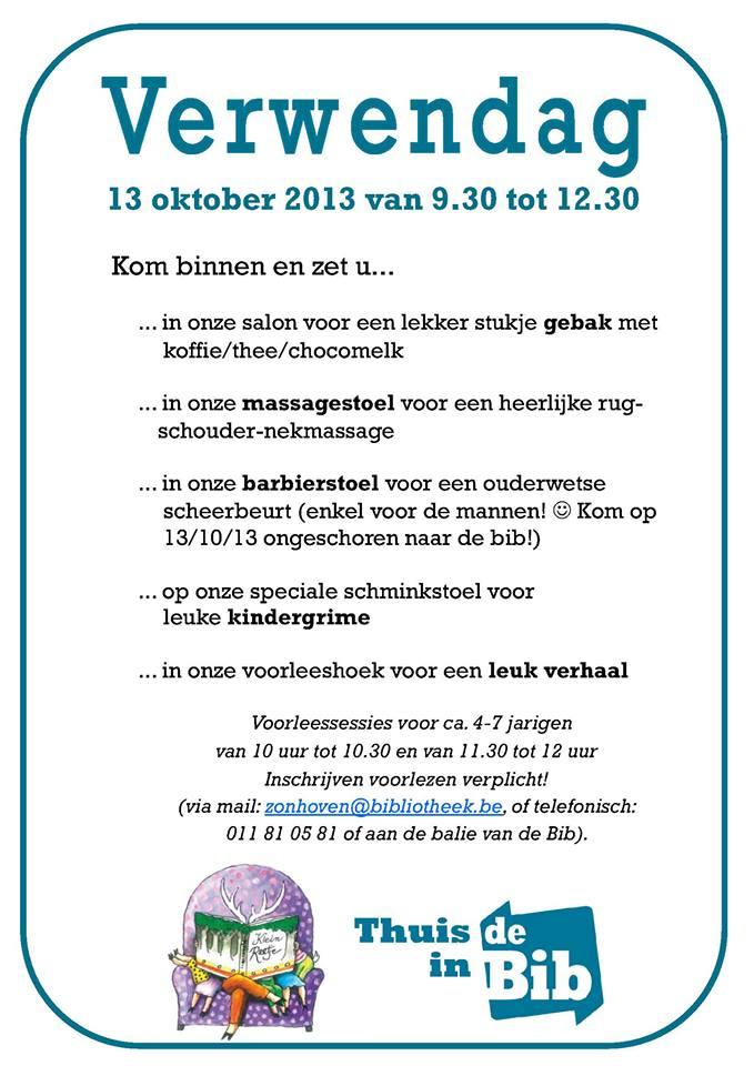 Programma verwendag 2013