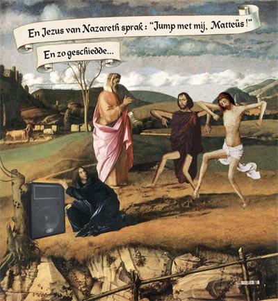 jezus, een vraag over godsdienst!