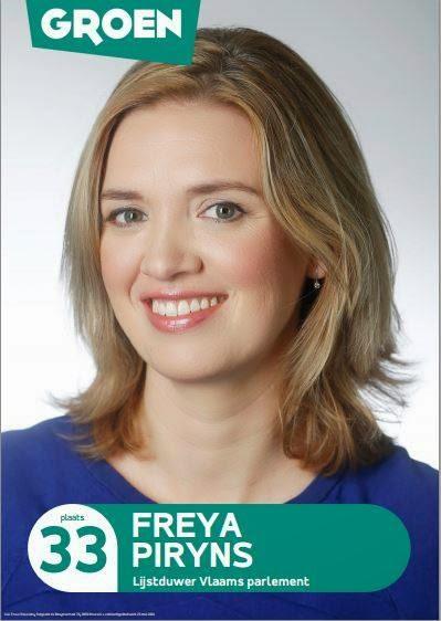 Freya Piryns verlaat de nationale politiek