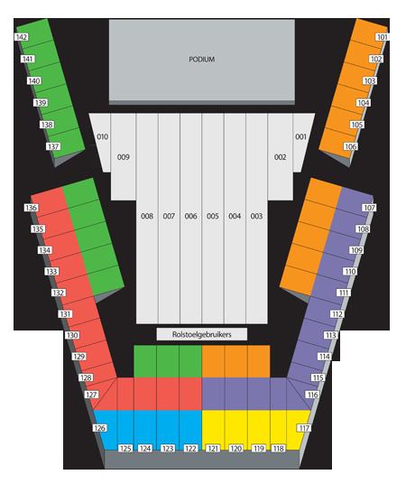 ethias arena zaalplan