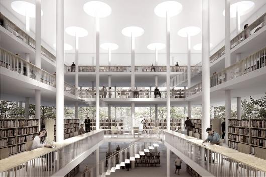 virtueel ontwerp daegu gosan bibliotheek