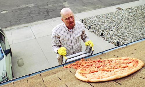 doe es ff stoppen met pizza werpen