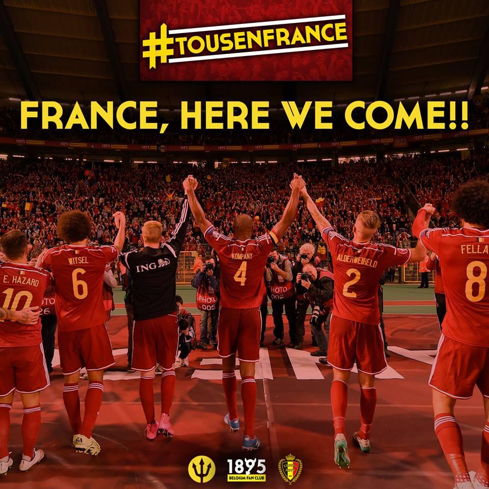 Eerst worden we Europees kampioen, daarna wereldkampioen
