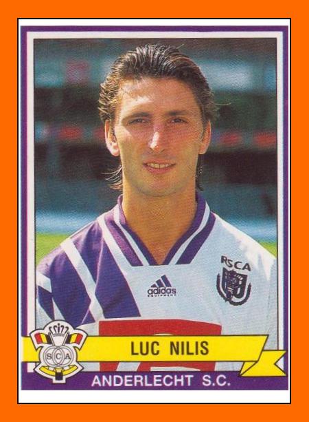 Luc Nilis, mijn favoriete Anderlechtspeler