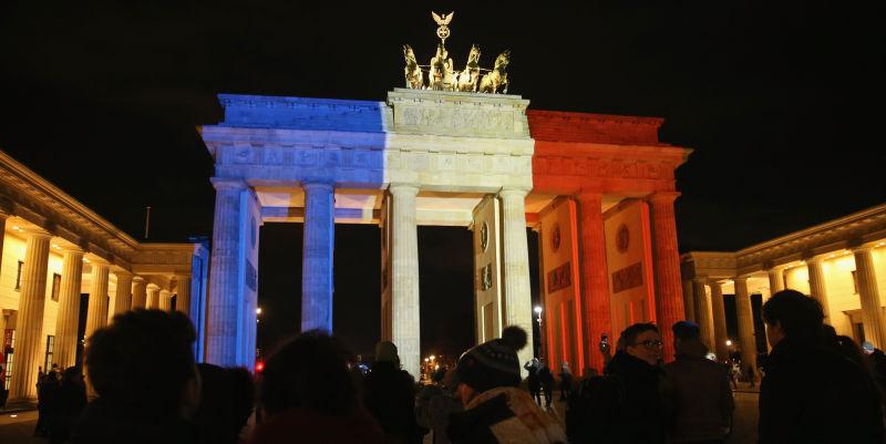 Niet enkel Frankrijk rouwt ...