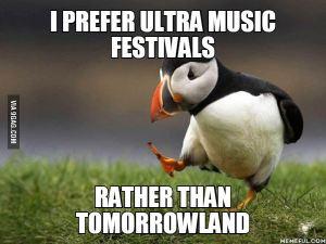 overgewaardeerd festival met déjà entendu muziek
