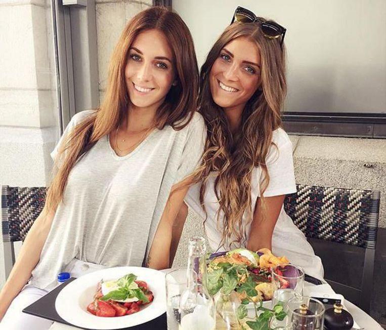 Instagramfenomenen Talisa Loup en Céline Schraepen