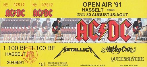 monsters of rock 1991