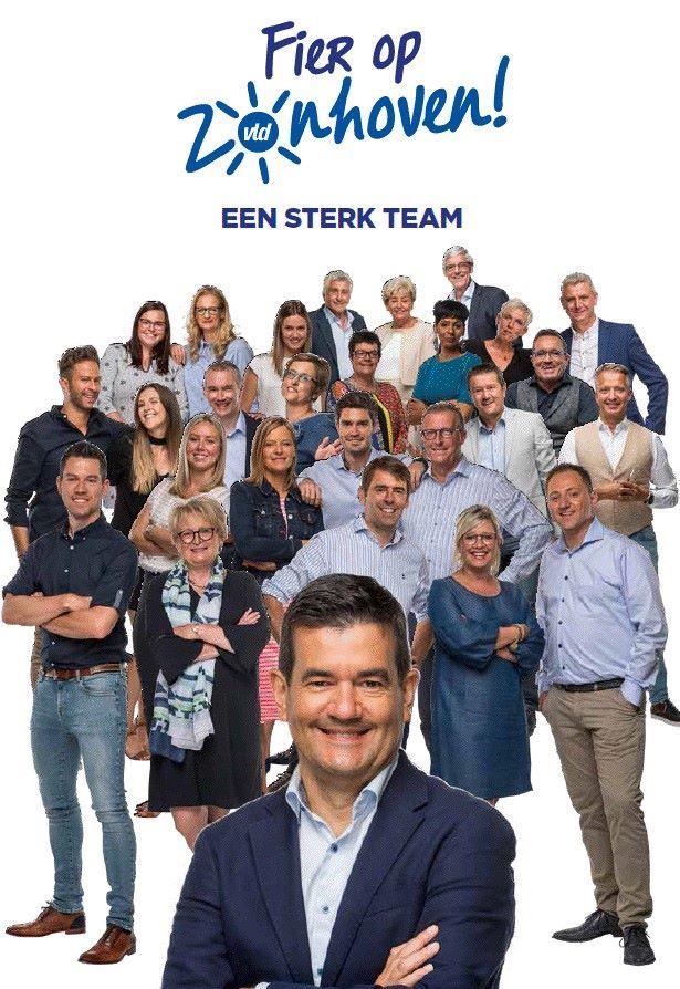 de 27 kandidaten van open vld zonhoven