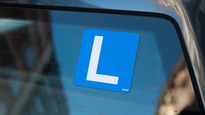 rijden met een L